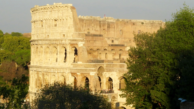 The Colosseum late afternoon