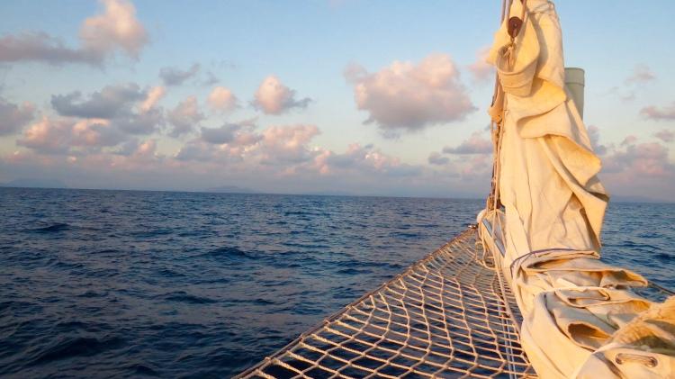 Approaching Sardinia